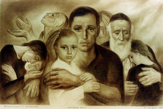 David Olere Holocaust Art | Holocaust Art Exhibit