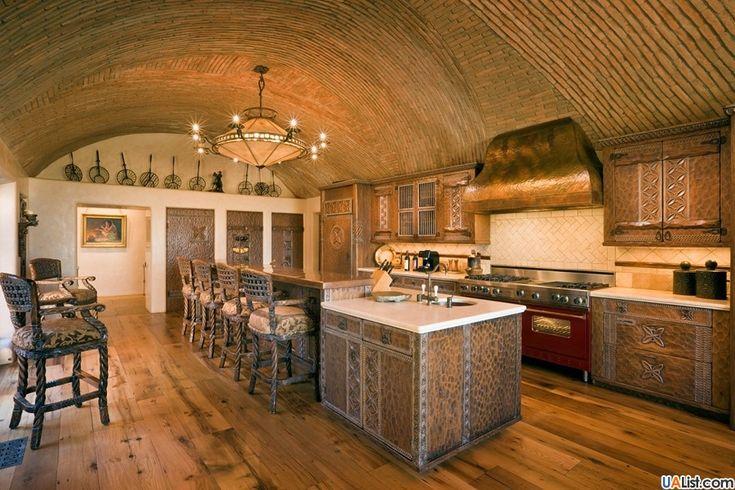 Сводчатый потолок из кирпича, фото №15