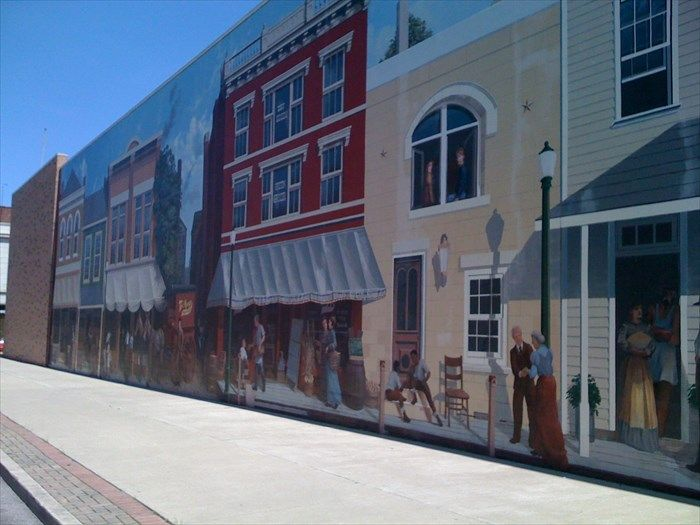 Murals On The Floodwall, Portsmouth, Ohio Part 71