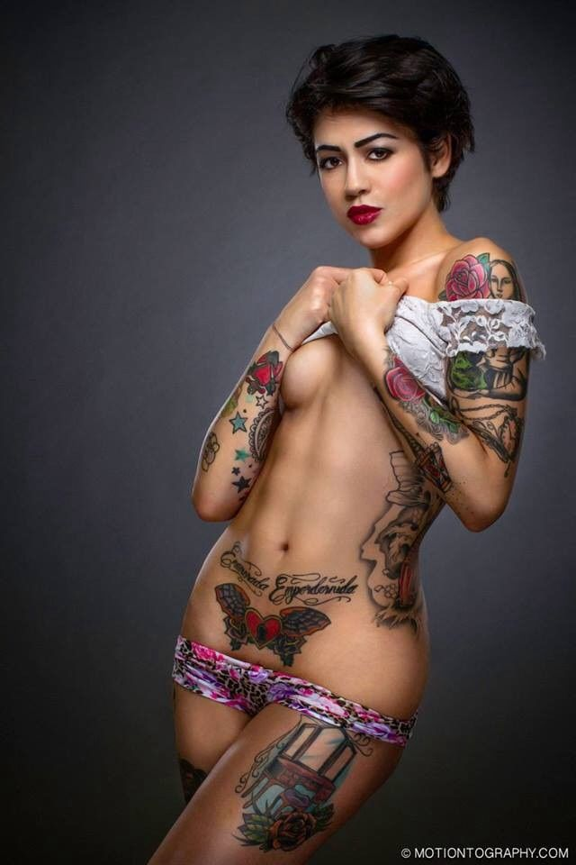 Tattoo Women Nude 8