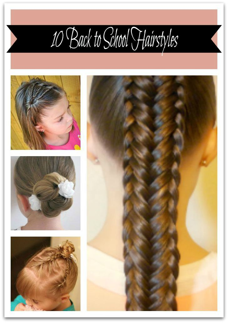 10 really cute hairstyles I thought would be perfect for any girl going back