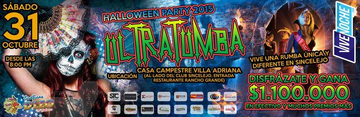 ¡Uy! que interesante:  Ultratumba - Halloween PartyMíralo Aquí --> http://www.sabanaurbana.com/eventos/ultratumba-halloween-party/  #SabanaUrbana.