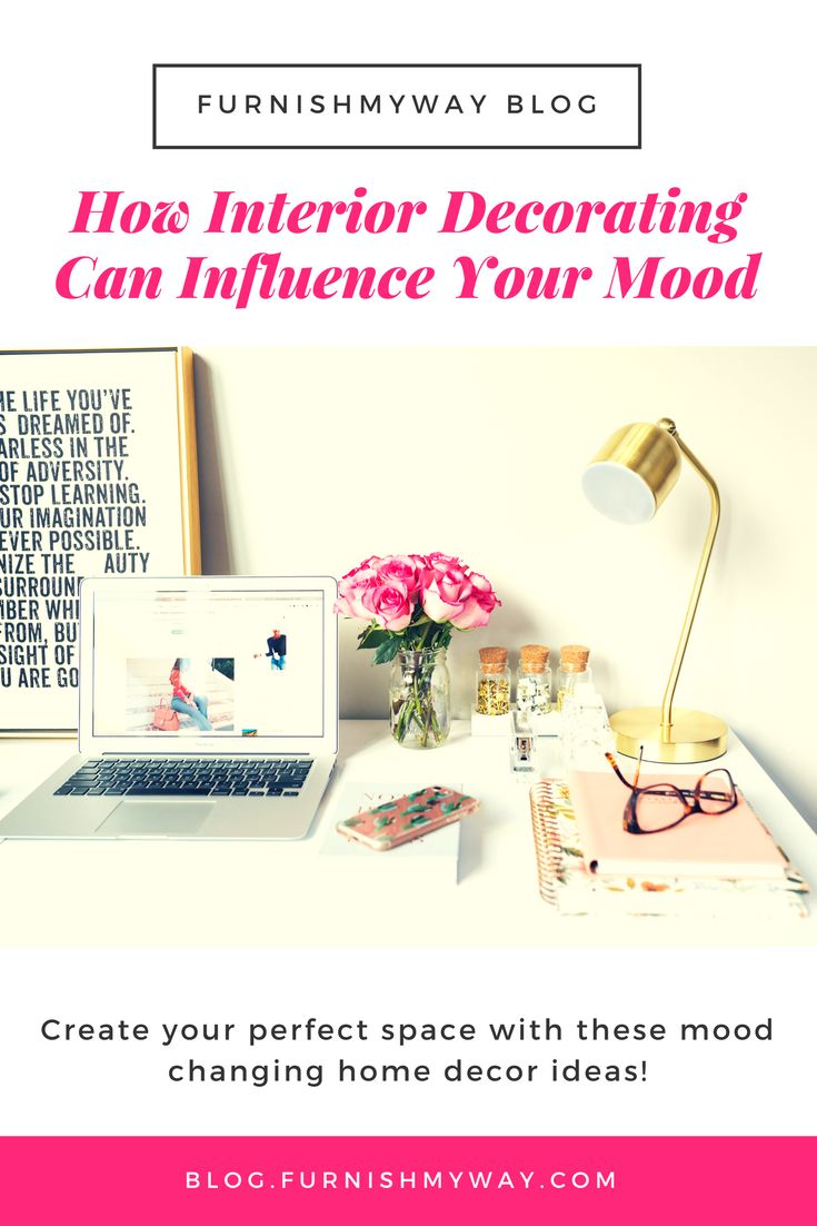 Did you know that interior decorating can change your mood? Check out these mood influencing home decor ideas to create your perfect space.