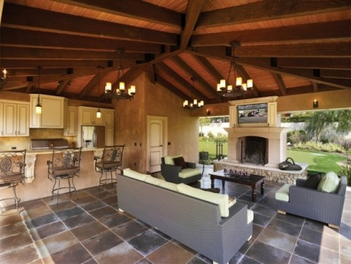 Awesome for the patio!Living Area, Ideas, Outdoorliving, Patios Design, Kitchens Design, Outdoor Living Spaces, Outdoor Patios, Outdoor Kitchens, Outdoor Spaces