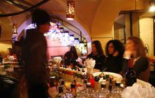 Aperitivo at Lobelix cafe, Torino