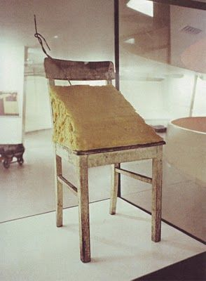 Joseph Beuys: Fat Chair, 1964.