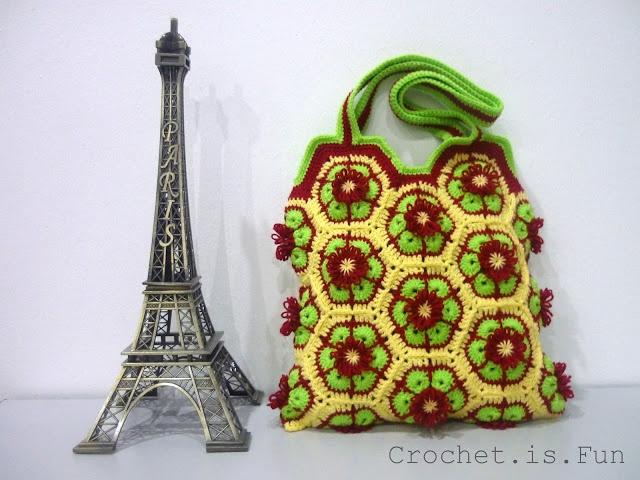 Tutorial: African Flower Bag