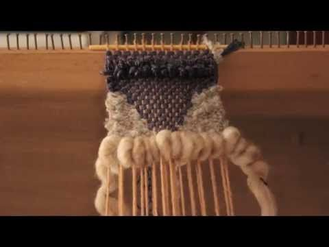 Weftover: A Stop-Motion Weaving - YouTube