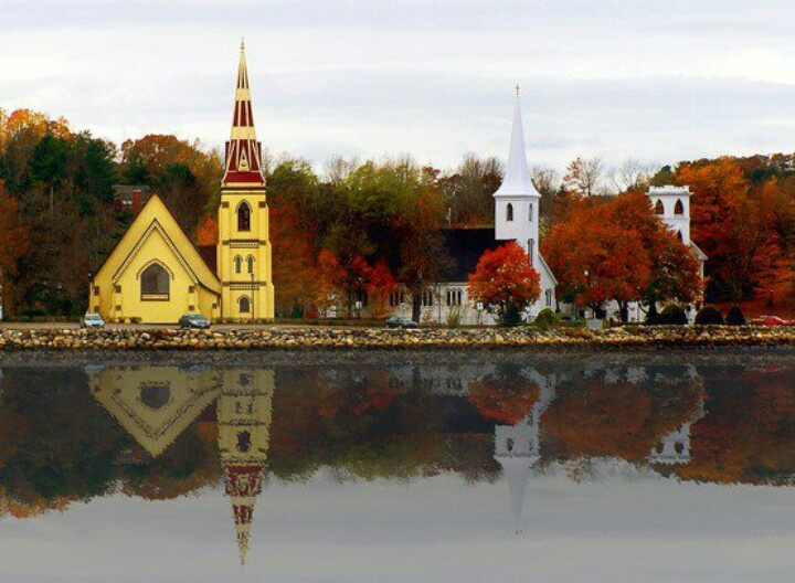 Mahone Bay Nova Scotia