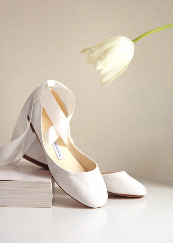 e448d9e1c41 Ivory Suede Leather Swan Bolshoy Ballet Flats. The perfect wedding ...