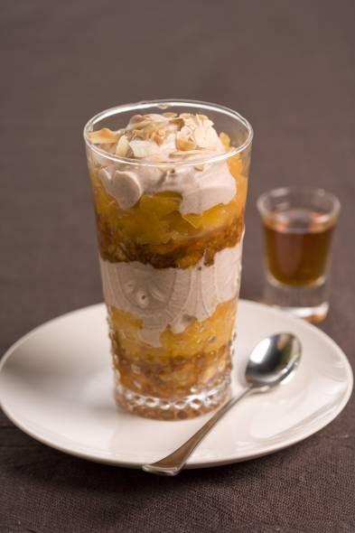 Mascarponecrème Met Abrikozen En Bitterkoekjes recept | Smulweb.nl