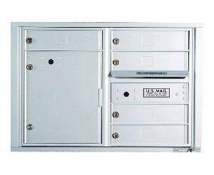 "Auth-Florence: Front Loading 4C Horizontal Cluster Mailbox Suite D, by Auth Florence Mailboxes. $1026.78. Auth-Florence: Front Loading 4C Horizontal Cluster Mailbox Suite D, 5-Tenant + 15"" Parcel"