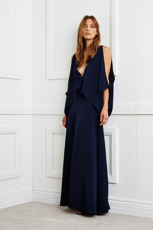 Navy Apollo Dress by Maurie & Eve