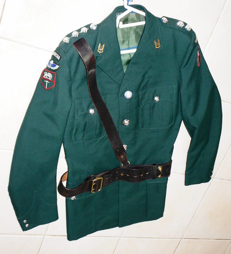 Rhodesian SAS tunic