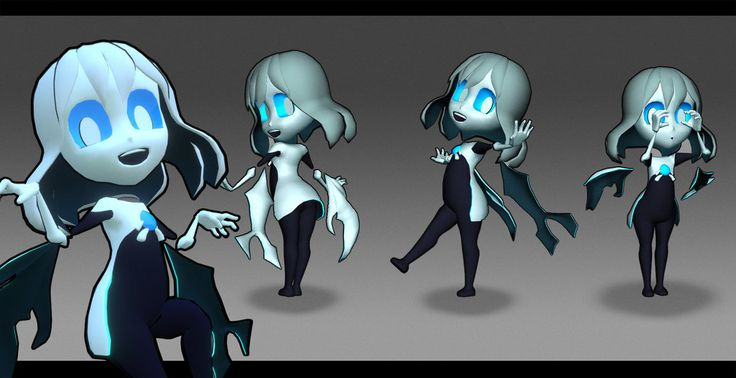 Hollow Race Ghost Girl by Remely.deviantart.com on @DeviantArt