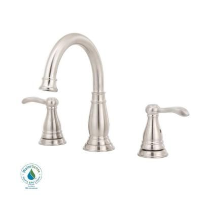 Delta Porter 8 in  Widespread 2 Handle High Arc Bathroom Faucet in Brushed. 1000  images about Bath Faucets on Pinterest   Shops  Brushed