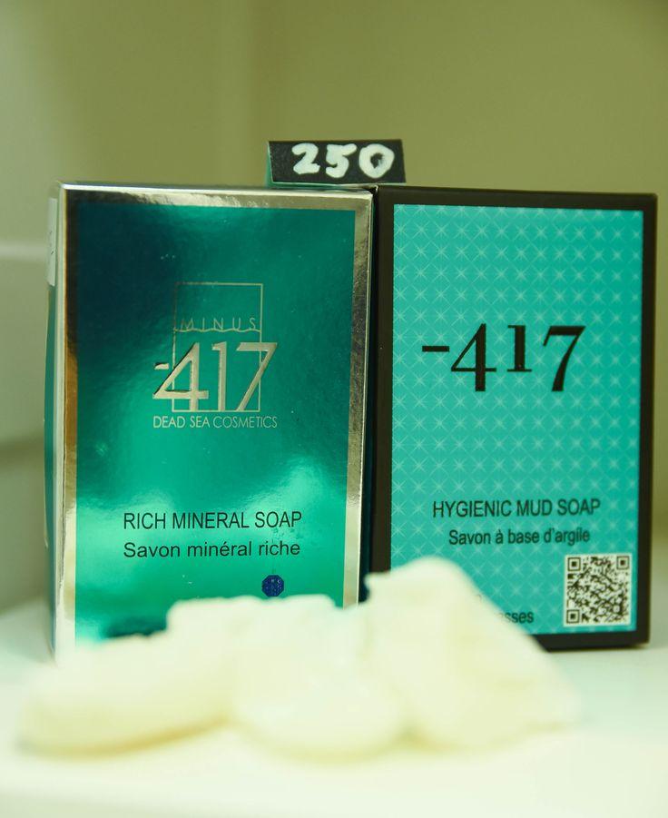 Mýdlo bohaté na minerály Minus 417. Využijte naší dopravy zdarma při nákupu  nad 890 Kč nebo výdejního místa v Praze zdarma.