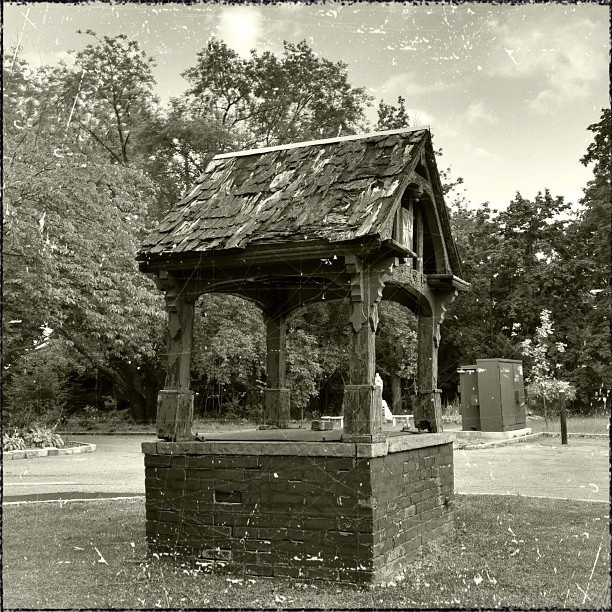 The old well in front of my old school, the Villa Maria Academy