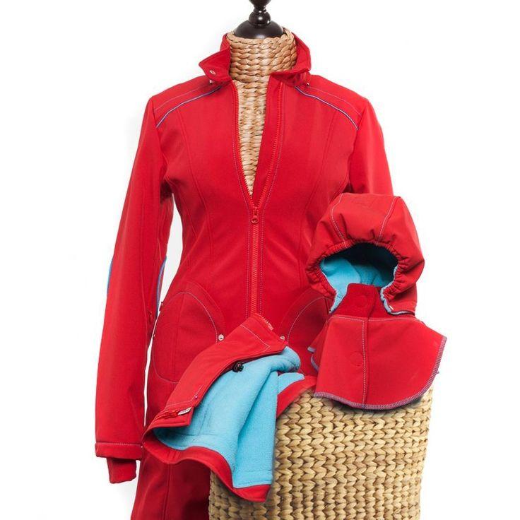 Liliputi® Winter Mama Set - Floral Garden #babywearing #babywearingwinter #babywearing mamacoat #pregnancycoat #pregnancy