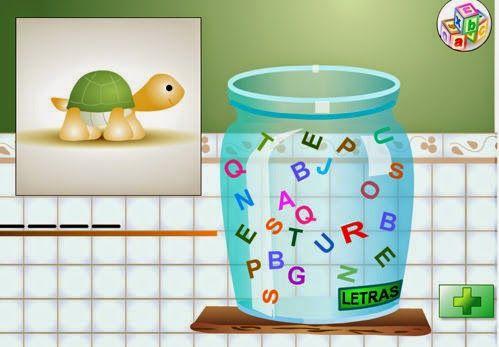 Tic formar palabras  coge letras del bote   http://ntic.educacion.es/w3//eos/MaterialesEducativos/mem2009/pequetic/palabras.swf