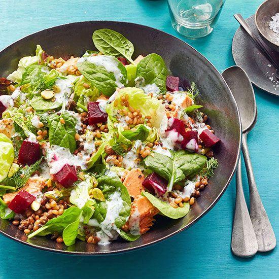 Greens and Grain Salad