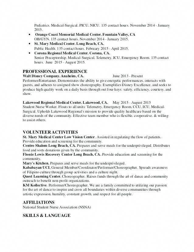 Surgical Tech Certification Programs Nurseanesthetistprograms Student Nurse Resume Nursing Resume Template Registered Nurse Resume