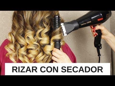 Como RIZAR El CABELLO con secador💕(ONDULAR EL PELO CON SECADORA) - YouTube 1af4e9b1e4d2