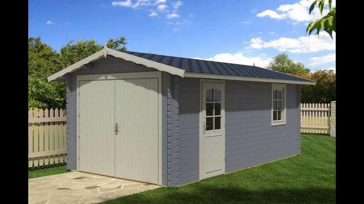 23 best garage in legno garage prefabbricati in legno - Garage mobile per auto ...