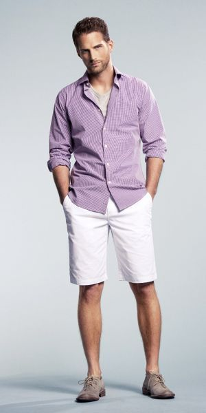 25  Best Ideas about Mens White Shorts on Pinterest | Men summer ...