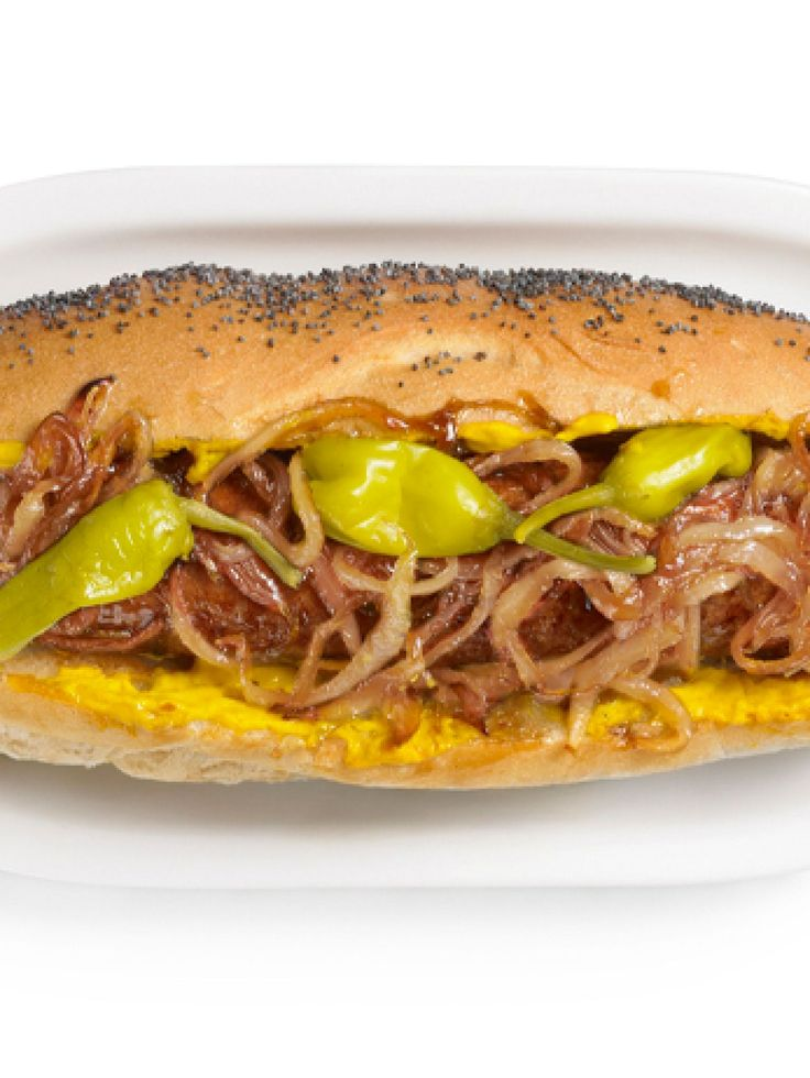 Get this all-star, easy-to-follow Maxwell Street Polish Sausage Sandwiches recipe from Jeff Mauro