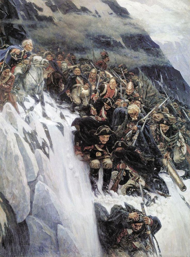 Suvorov crossing the alps - Alexander Suvorov - Wikipedia, the free encyclopedia