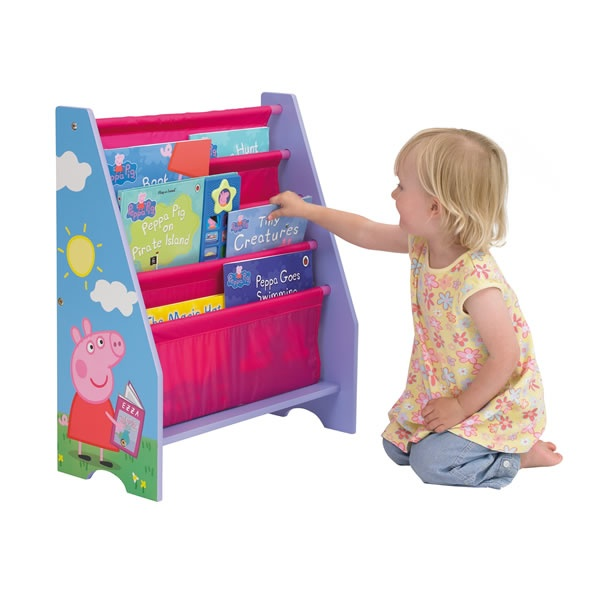 Peppa Pig Sling Bookcase
