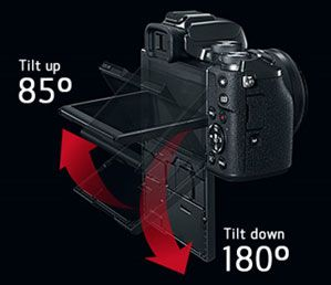 EOS M5 EF-M 15-45mm f/3.5-6.3 IS STM Lens Kit | Canon Online Store