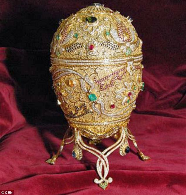 Faberge Eggs Worth | Fabergé egg worth £1million was recovered by French traffic police