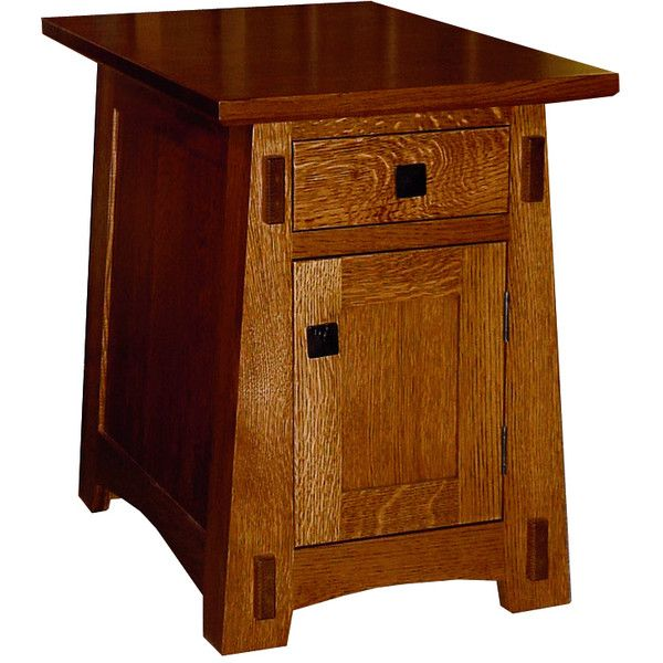 Amish End Tables | Amish Living Room Arts U0026 Crafts Small End Table ($572)