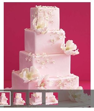 cake cake cake: Squares, Pink Cakes, Wedding Ideas, Weddings, Flower Cakes, Beautiful Wedding Cakes, Cakes Wedding, Pink Wedding Cakes, Fondant Cakes
