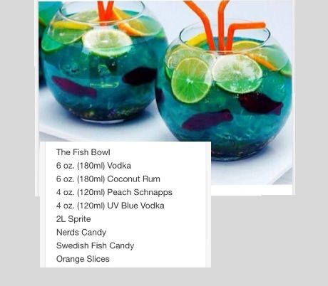 the fish bowl tipsy bartender feel 39 n no pain