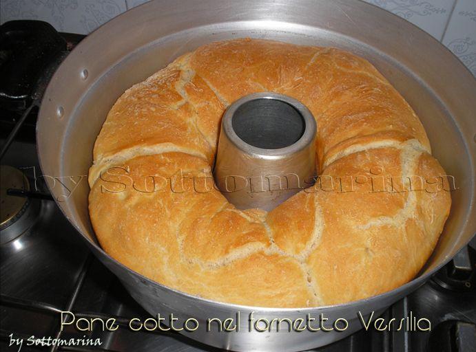PANE cotto nel fornetto Versilia - RICETTE FOTOGRAFATE di SOTTOMARINA