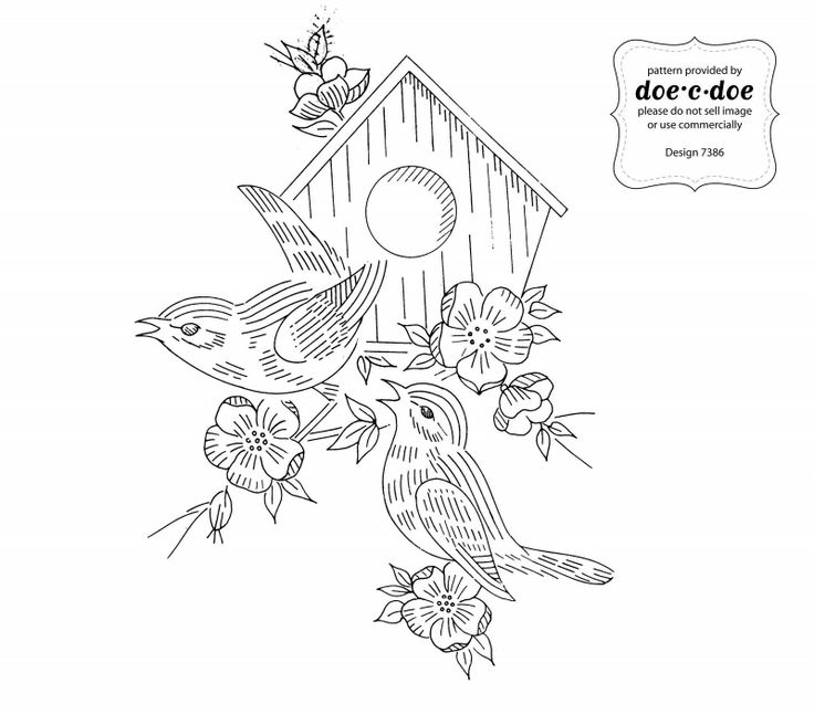 Vintage Patterns Coloring Pages. embroidery vintage birds 347 best Embroidery patterns images on Pinterest