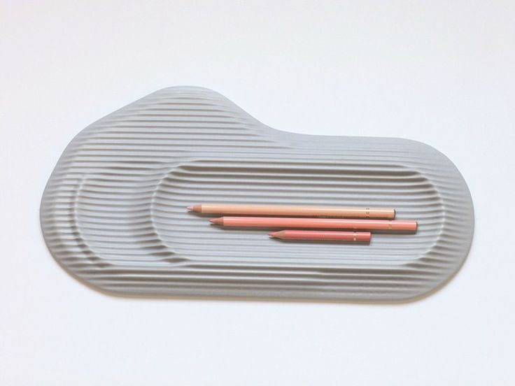 Ceramic pen holder CERAMIC FEELD by Moustache design Benjamin Graindorge