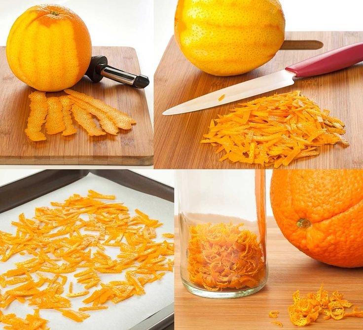 Make Your Own Dried Orange Peel: Add pungent citrus flavor to any number of dishes with dried orange zest - just follow these easy instructions to make your own.