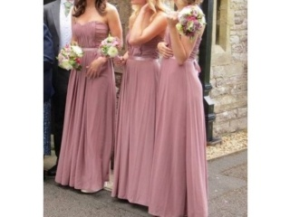 Dusky pink pinteres for Dusky pink wedding dress