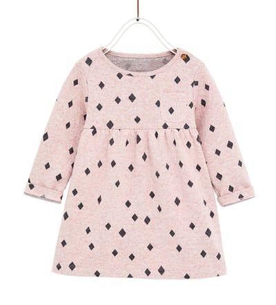 PONTE DI ROMA KNIT DRESS-DRESSES-BABY GIRL   3 months - 4 years-KIDS   ZARA United States