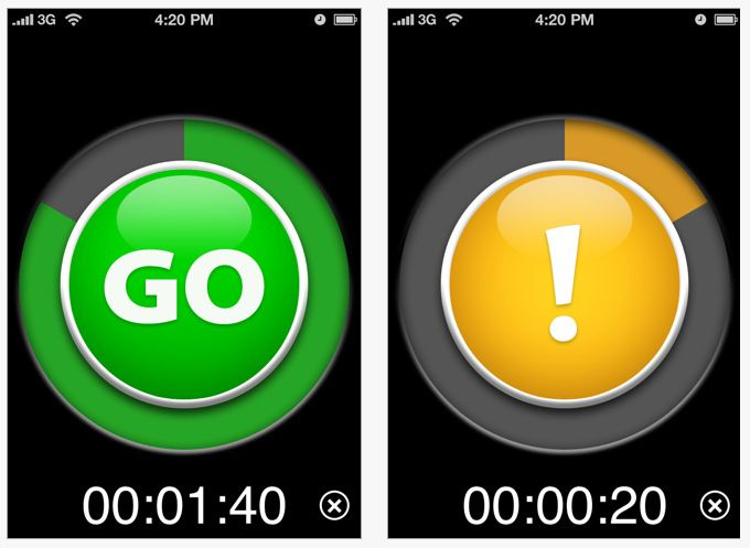 """Visual timer apps for iPad....great for classroom time management for activities that kids want to """"extend"""""""