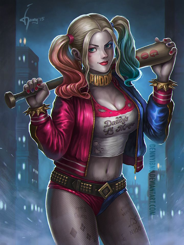 Harley Quinn by dennyibnu on DeviantArt