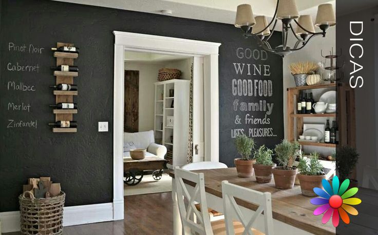 Pintar uma parede, uma porta, um móvel, entre muitas outras possibilidades que a tinta de efeito ardósia permite, pode ser uma forma divertida e interessante de inserir um pouco de criatividade nas vo