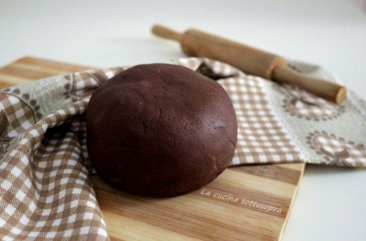 Pasta frolla al cacao di Montersino