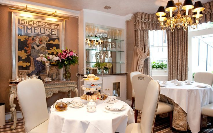 This 28-room Knightsbridge hotel that embodies the idea of a quaint, Victorian-era townhouse, outfitted with rich fabrics, antiques, tea trays, and hot water bottles. Its Victoria & Albert suite also has a Nespresso espresso machine and a private terrace.