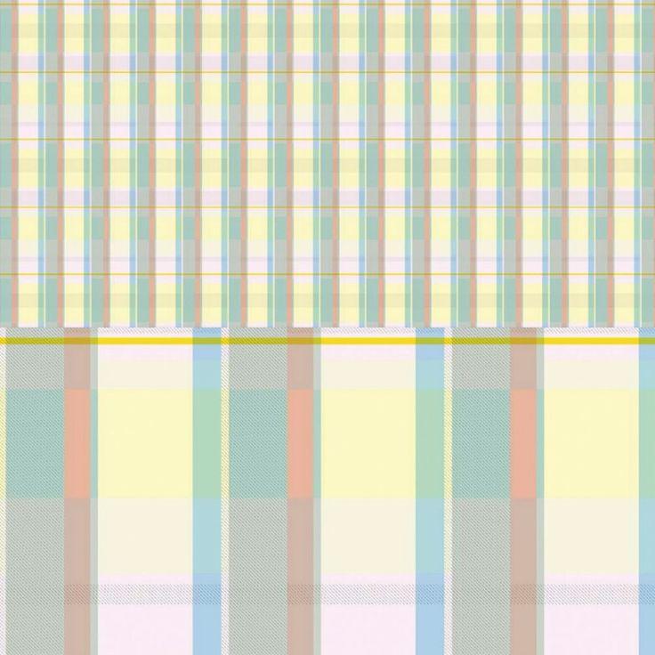 "Grafika z katalogu "" W kratkę"" - Kratka pastel 2 http://cottonbee.pl/tkan…/w-kratke/7681-kratka-pastel-2.html"
