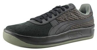 Puma Gv Special Textured Men Round Toe Synthetic Black Running Shoe.